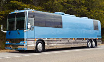 Tour 2 - Blue Prevost